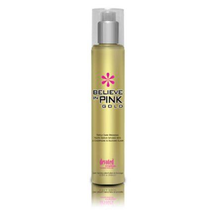 Believe In Pink Gold. Triple Dark Bronzing Youth Serum