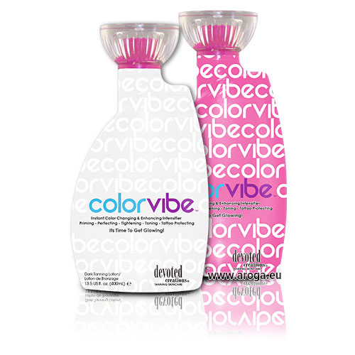 Color Vibe Color Rush by Devoted Creations Tanning Skincare Lotions