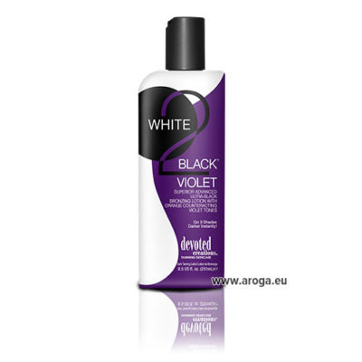 White 2 Black Violet by Devoted Creations